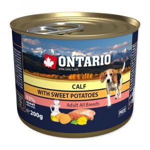 Ontario Telecí se sladkým bramborem a lněným olejem – 200 g