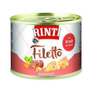 Konzerva RINTI Filetto kuře + hovězí v želé 210g