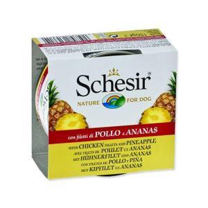 Konzerva SCHESIR Fruit kuřecí + ananas