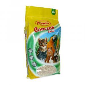 Avicentra kukuřičná podestýlka jemná 10 l