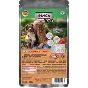 """MACs Dog Soft jehně """"to go"""" 230g"""