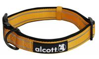Ilustrační obrázek Alcott reflexné obojok pre psy oranžový, veľkosť M