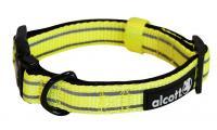 Ilustrační obrázek Alcott reflexné obojok pre psov žltý, veľkosť M