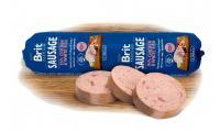 Ilustrační obrázek Brit Sausage Chicken & White Fish 800g