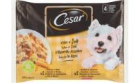Ilustrační obrázek CESAR kapsička Selektion v želé 4pack 400g
