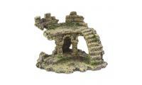 Ilustrační obrázek Dekorace Zřícenina hradu 13 cm
