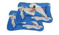 Ilustrační obrázek ECO PACK PROFIZOO Vankúš 4R 90cm Edícia Maxipes Fík modrá (bav + molitan) 2ks