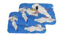 Ilustrační obrázek ECO PACK PROFIZOO Vankúš 4R 90cm Edícia Maxipes Fík modrá (bav + rúno) 2ks