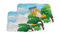 Ilustrační obrázek ECO PACK PROFIZOO Vankúš 4R 90cm Edícia Víla Amálka (bav + rúno) 2ks