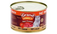 Ilustrační obrázek GRAND Hovězí - CAT 405 g