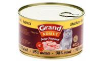 Ilustrační obrázek GRAND Kuřecí - CAT 405 g
