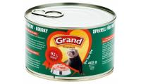 Ilustrační obrázek GRAND Pochúťka pre fretky - kúsky 405 g