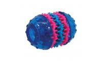 Ilustrační obrázek Hračka DOG FANTASY TPR Dental modrá 10,8 cm