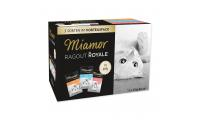 Ilustrační obrázek Kapsičky MIAMOR Ragout Royale multipack krůta, losos, telecí v želé 1200g