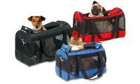 Ilustrační obrázek Karlie Cestovná taška Divina pre mačky a malých psov čierna 40X26x26 cm