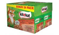 Ilustrační obrázek KITEKAT kapsička Mix menu 24pack 2400g