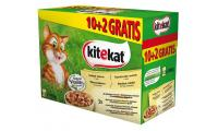 Ilustrační obrázek KITEKAT kapsička Farmárske menu 12pack 1200g