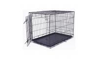 Ilustrační obrázek Klietka DOG FANTASY skladacia čierna L - 1 dvere