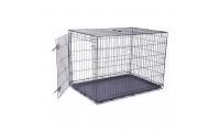 Ilustrační obrázek Klietka DOG FANTASY skladací čierna XL - 1 dvere