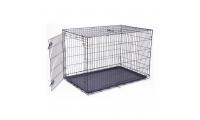 Ilustrační obrázek Klietka DOG FANTASY skladací čierna XXL - 1 dvere