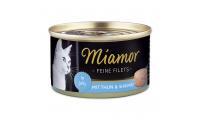 Ilustrační obrázek Konzerva MiamorFilet tuniak + krevety 100g