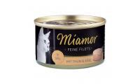 Ilustrační obrázek Konzerva MiamorFilet tuniak + syr 100g