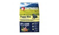 Ilustrační obrázek ONTARIO Puppy Mini Lamb & Rice 2,25 kg