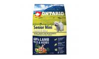 Ilustrační obrázek ONTARIO Senior Mini Lamb & Rice 2,25 kg
