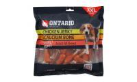 Ilustrační obrázek ONTARIO Snack Chicken Jerky + Calcium 500g