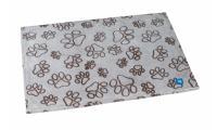 Ilustrační obrázek PROFIZOO Fleece Deka 60 x 38cm hnedá labka S