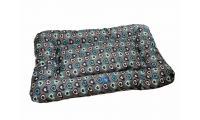 Ilustrační obrázek PROFIZOO Odolný Vankúš 4R 60 vzor modrá srdiečka (Spylon)