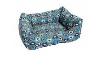 Ilustrační obrázek PROFIZOO Pelech Bojar 60 vzor modrá srdiečka (Spylon)