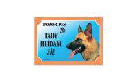 Ilustrační obrázek Tabuľka nemecký ovčiak profil