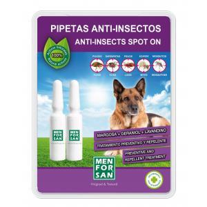 MENFORSAN Antiparazitní pipeta pro psy - 2 pipety v 1 balení