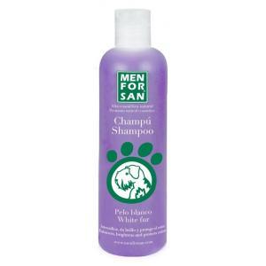 MENFORSAN Šampon pro zesvětlení bílé srsti psů 300ml