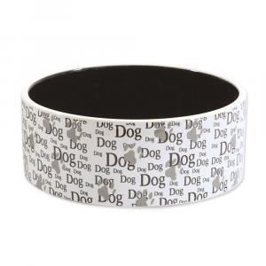 Miska DOG FANTASY keramická potisk Dog 16 cm (750ml)
