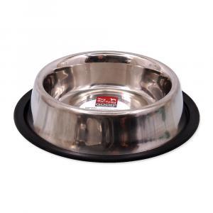 Miska DOG FANTASY nerezová s gumou 19 cm