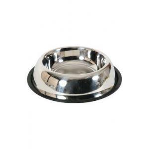 Miska nerez protiskluz pes STEEL 0,55 l Zolux