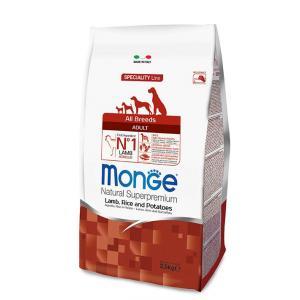 MONGE Dog Jehně,rýže,brambory 25/16 2,5kg