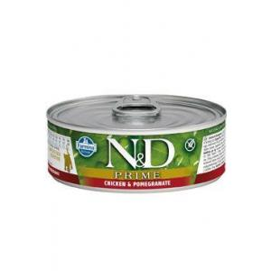 N&D CAT PRIME Kitten Chicken & Pomegranate 80g