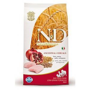 N&D Grain Free DOG Puppy S/M Chicken & Pomegr 800g