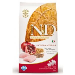 N&D Low Grain DOG Adult Maxi Chicken & Pomegranat 12kg + DOPRAVA ZDARMA