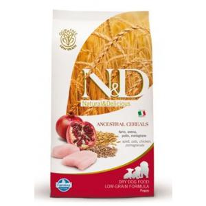 N&D Low Grain DOG Puppy Mini Chicken & Pomegr 2,5kg