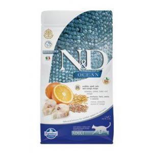 N&D OCEAN CAT LG Adult Codfish & Orange 1,5kg