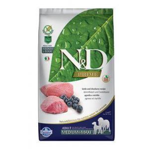 N&D PRIME DOG Adult M/L Lamb & Blueberry 2,5kg