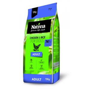 Nativia Dog Adult 15 + 3kg + DOPRAVA ZDARMA