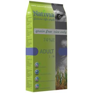 Nativia Dog Adult 15kg (EXPIRACE 04/20)
