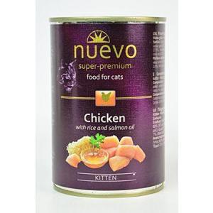 Nuevo kotě kuře konz. 400g