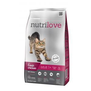 Nutrilove kočka granule ADULT fresh kuřecí 1,5kg
