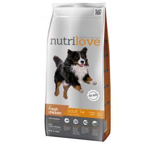 Nutrilove pes granule ADULT L fresh kuřecí 3kg